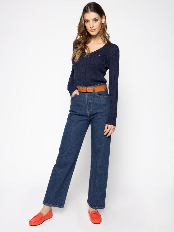 Polo Ralph Lauren Polo Ralph Lauren Megztinis Kimberly 211580008007 Tamsiai mėlyna Regular Fit