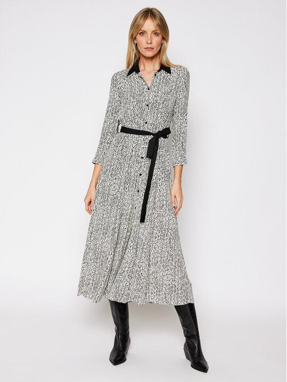 Pinko Sukienka koszulowa Sushi 20211 BLK01 1G160A. 8445 Kolorowy Regular Fit