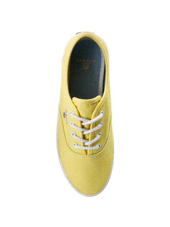 Gant Gant Πάνινα παπούτσια New Haven 10538569 Κίτρινο