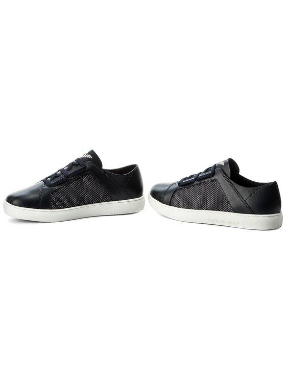Emporio Armani Emporio Armani Sneakersy X4C472 XL205 A012 Granatowy