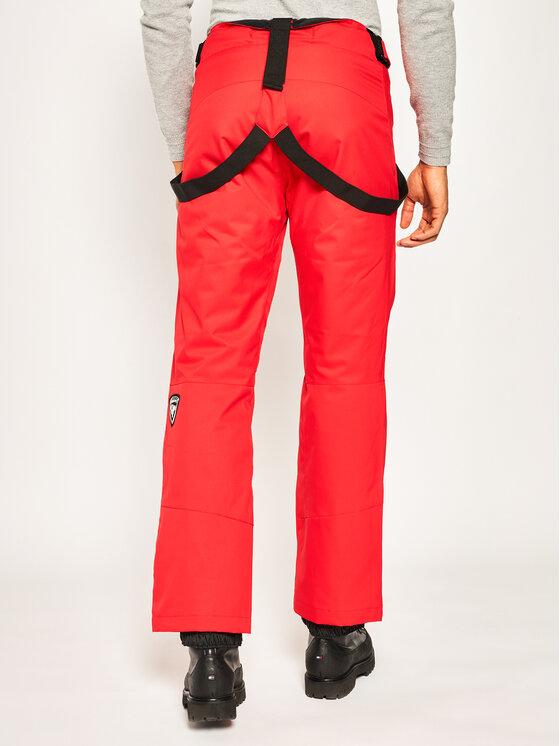 Rossignol Rossignol Spodnie narciarskie RLIMP03 Czerwony Regular Fit