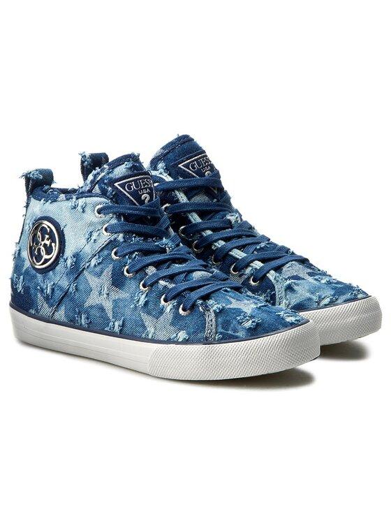 Guess Guess Sneakers Joel FLOEL1 DEN12 Albastru