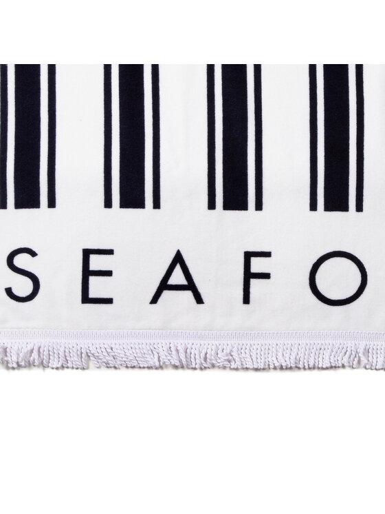 Seafolly Seafolly Ręcznik Fringe Benefits 71585-TL Biały