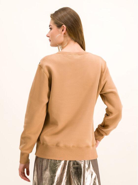 Sportmax Code Sportmax Code Sweatshirt Fibra 79260195 Braun Regular Fit