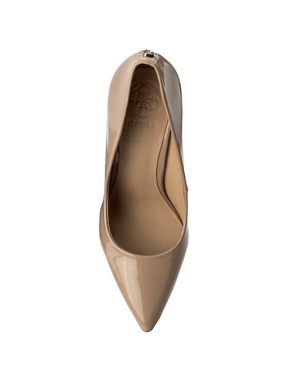 Guess Guess Pantofi cu toc subțire Blix8 FLBL81 PAF08 Bej