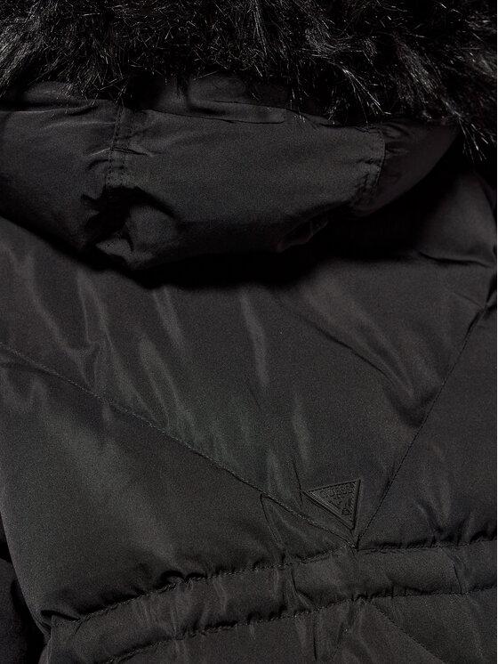 Guess Guess Vatovaná bunda Sveva W0BL71 WDAQ0 Černá Regular Fit
