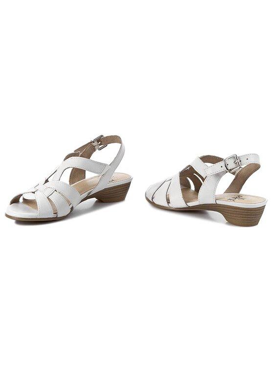 Caprice Caprice Sandały 9-28100-24 Biały