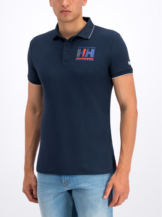Helly Hansen Helly Hansen Tricou polo Hp Racing 53012 Bleumarin Regular Fit