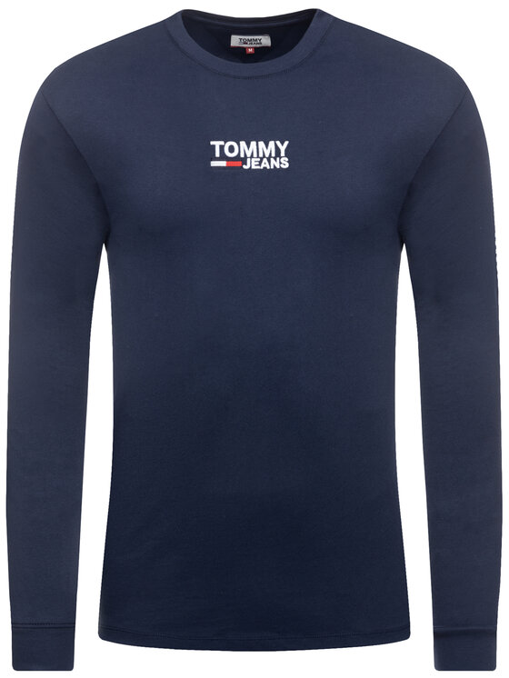 Tommy Jeans Tommy Jeans Longsleeve Tjm Corp DM0DM07431 Dunkelblau Regular Fit