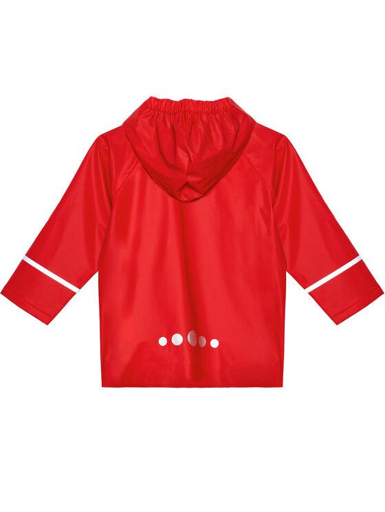Playshoes Playshoes Kurtka przeciwdeszczowa 408638 D Czerwony Regular Fit