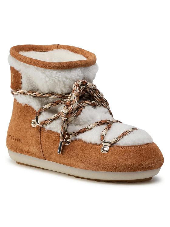 Moon Boot Sniego batai Dk Side Low Shearling 24300500001 Balta
