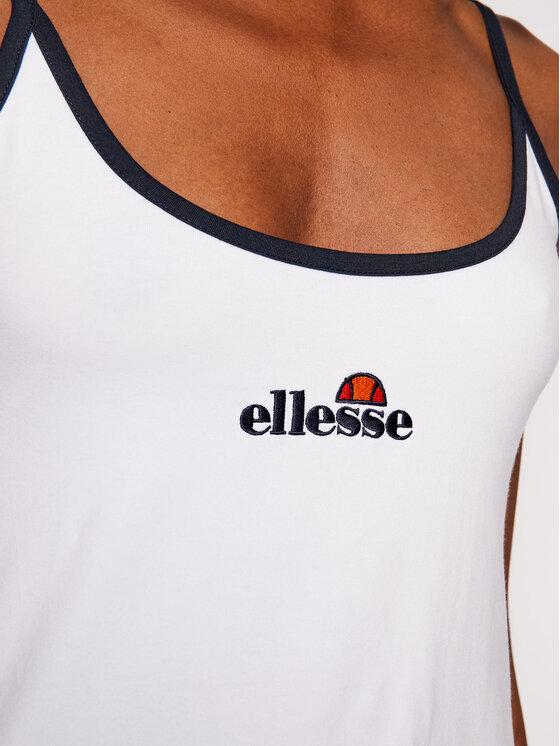 Ellesse Ellesse Haljina za tenis Mondae SGJ12893 Bijela Slim Fit