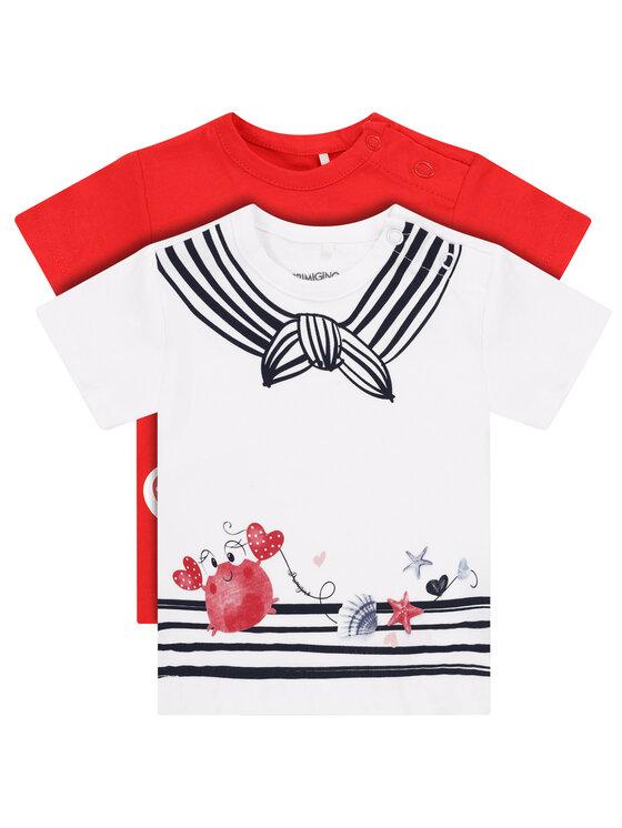 Primigi 2 marškinėlių komplektas Easy Wear Girl 45226501 Spalvota Regular Fit