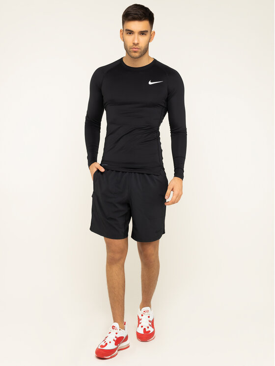 Nike Nike Tricou tehnic BV5588 Negru Tight Fit