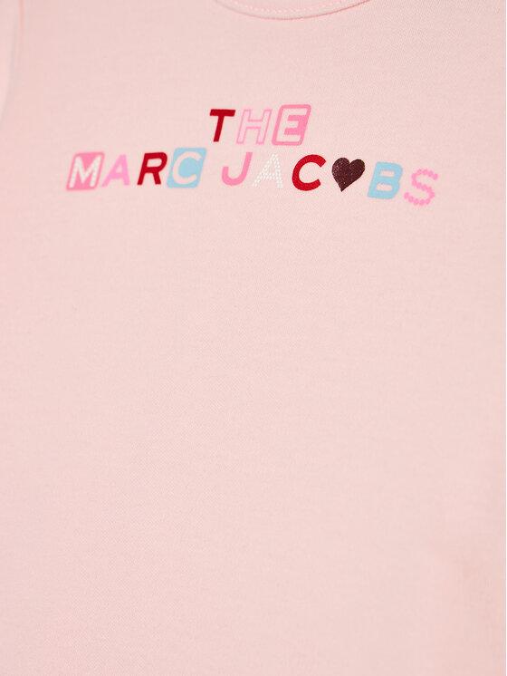 Little Marc Jacobs Little Marc Jacobs Śpiochy W97088 Różowy Regular Fit