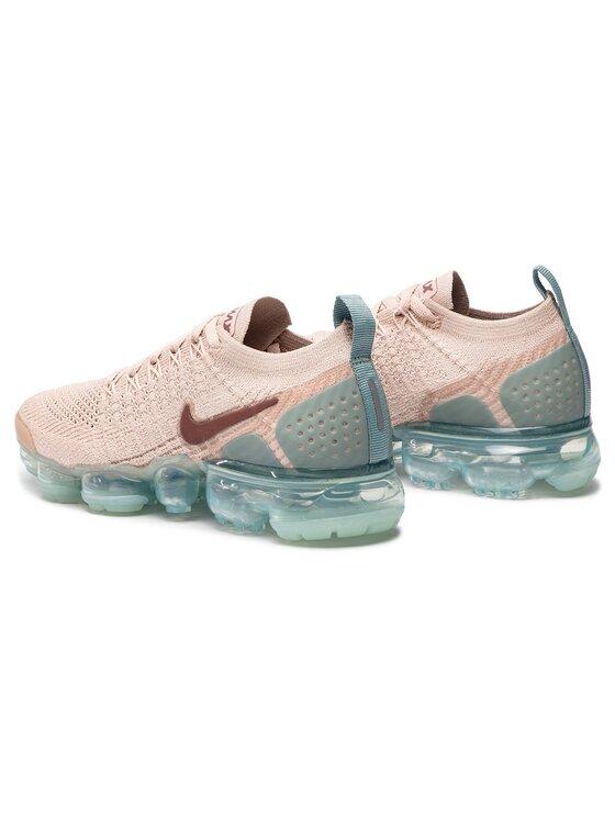 Nike Nike Buty Air Vapormax Flyknit 2 942843 203 Różowy