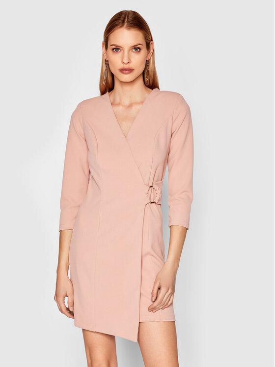 Rinascimento Kasdieninė suknelė CFC0017805002 Rožinė Regular Fit