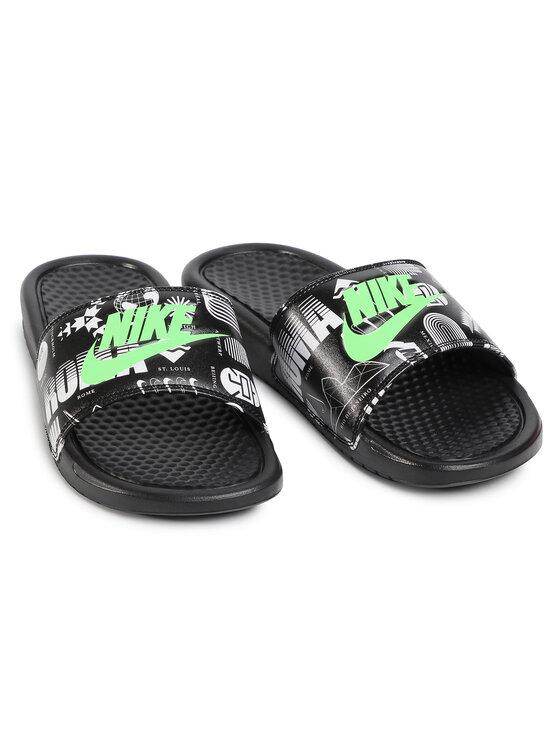 Nike Nike Klapki Benassi Jdi Print 631261 042 Czarny