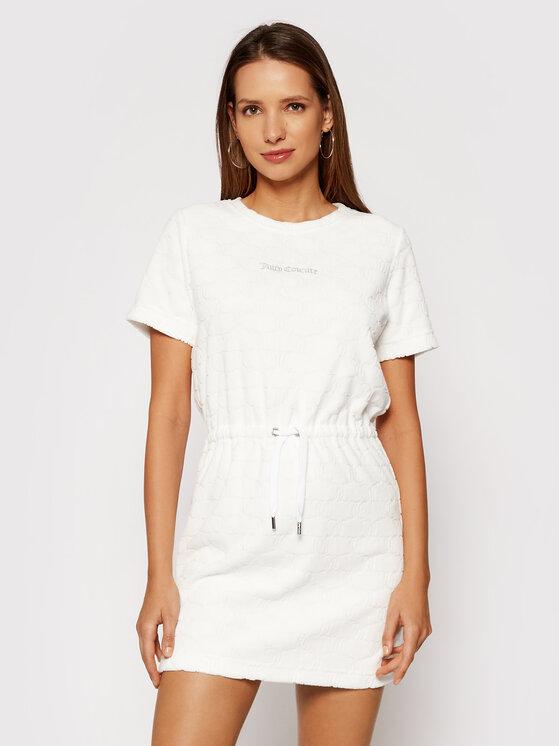 Juicy Couture Kasdieninė suknelė Tatum JCWE121083 Balta Regular Fit