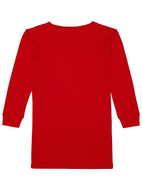 Little Marc Jacobs Little Marc Jacobs Sukienka codzienna W12333 M Czerwony Regular Fit