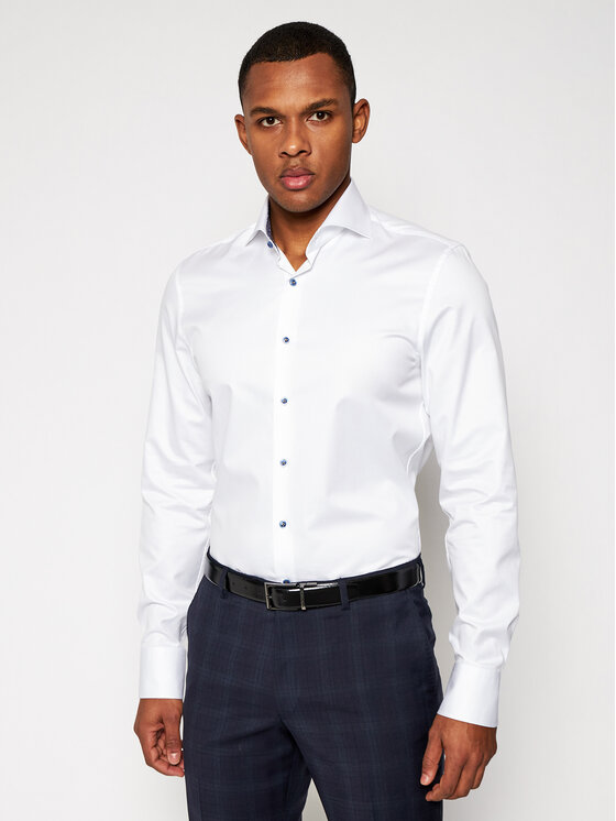 Stenströms Marškiniai 784111 2395 Balta Slim Fit