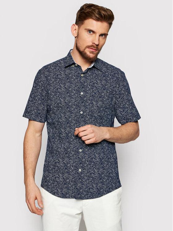 Pierre Cardin Marškiniai 53913/000/27190 Tamsiai mėlyna Modern Fit