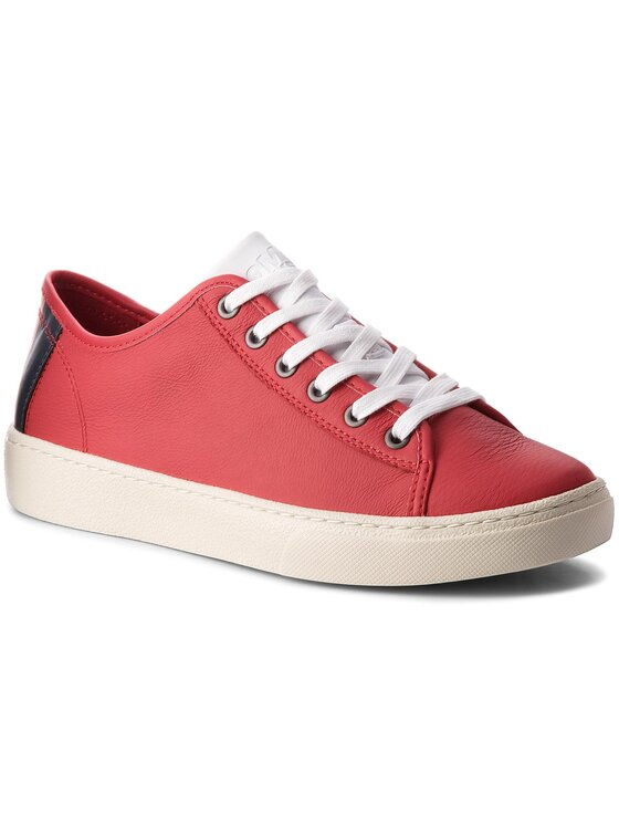 Tommy Jeans Tommy Jeans Sneakers Light Leather Low EM0EM00103 Rosso
