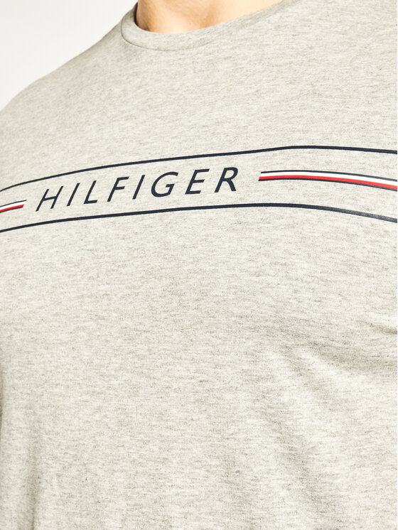 TOMMY HILFIGER TOMMY HILFIGER Тишърт Corp Hilfiger Tee MW0MW13328 Сив Regular Fit