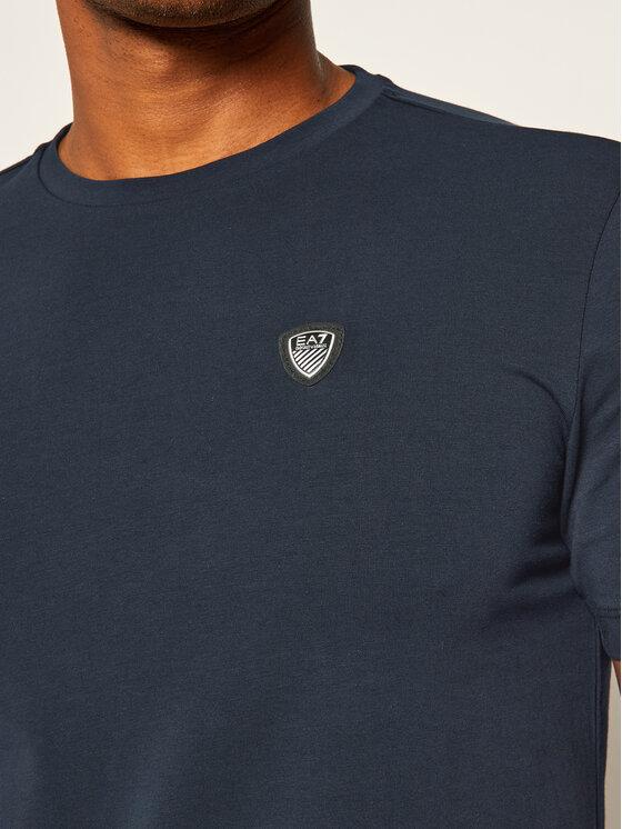 EA7 Emporio Armani EA7 Emporio Armani T-Shirt 8NPTL7 PJ03Z 1578 Granatowy Regular Fit