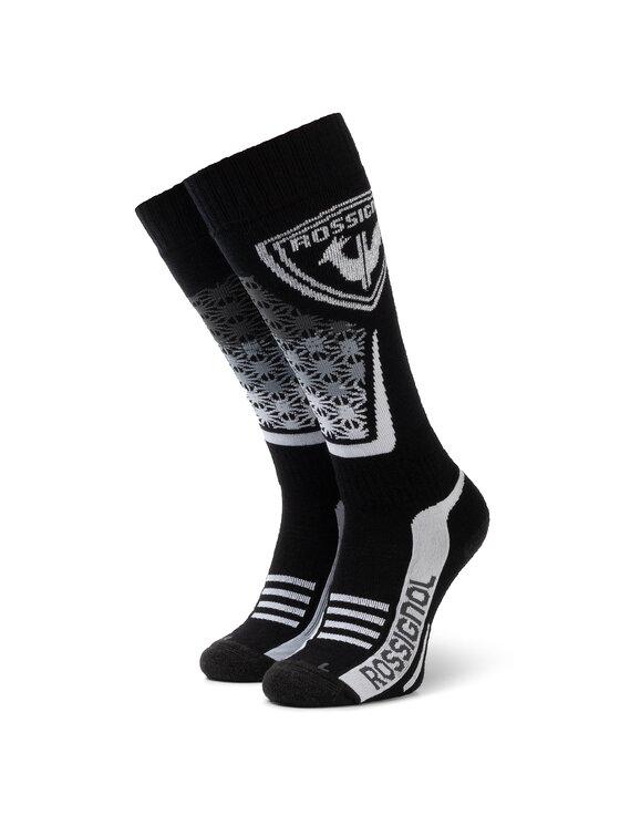 Rossignol Rossignol Hohe Unisex-Socken L3 W Wool & Silk RLIWX02 Schwarz