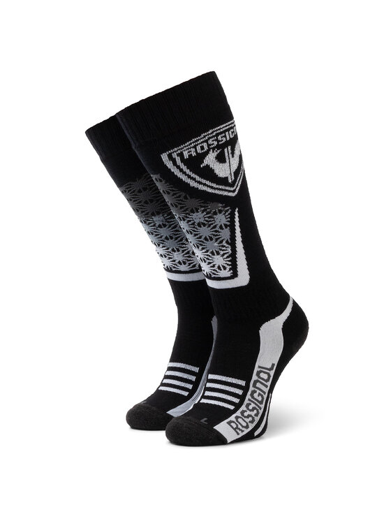 Rossignol Rossignol Klasické ponožky Unisex L3 W Wool & Silk RLIWX02 Černá