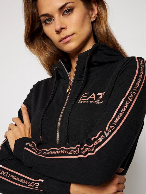 EA7 Emporio Armani EA7 Emporio Armani Bluza 6HTM09 TJ9FZ 0212 Czarny Regular Fit