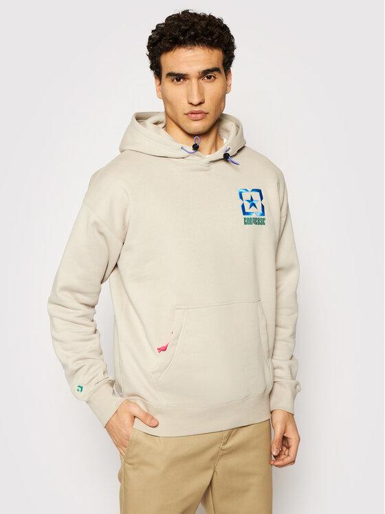 Converse Džemperis Alt-Terrain 10021090-A01 Smėlio Regular Fit