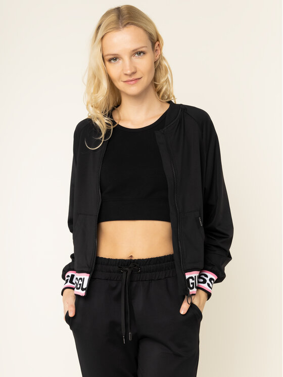 Guess Guess Sweatshirt Karin W01Q85 RJQ30 Noir Slim Fit