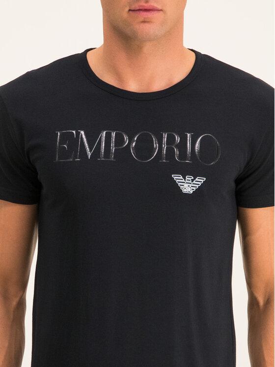 Emporio Armani Underwear Emporio Armani Underwear Marškinėliai 111035 CC716 00020 Juoda Slim Fit