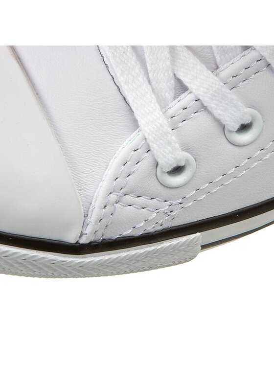 Converse Converse Кецове Ct Dainty Ox 537108C Бял