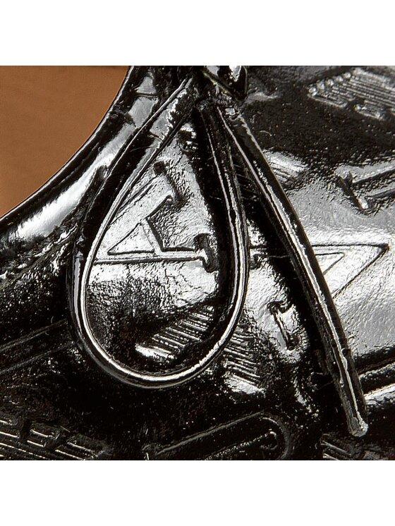 Armani Jeans Armani Jeans Baleriny Z55B1 31 12 Czarny
