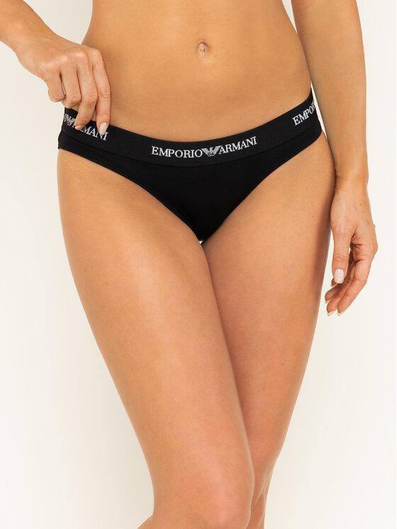 Emporio Armani Underwear Emporio Armani Underwear Komplet 2 par fig klasycznych 163334 CC317 07320 Czarny