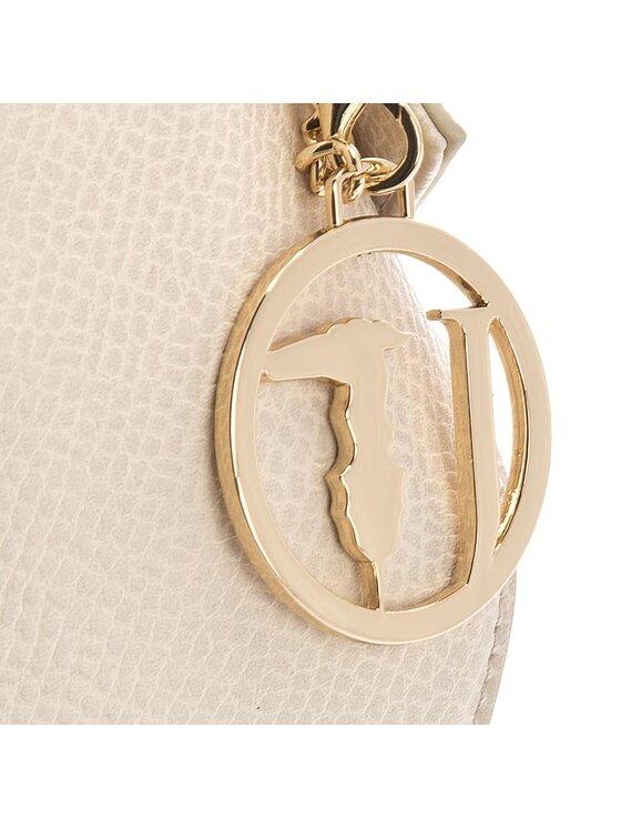 Trussardi Trussardi Jeans Дамска чанта Quito Bucket Bag 75BG35 Бежов