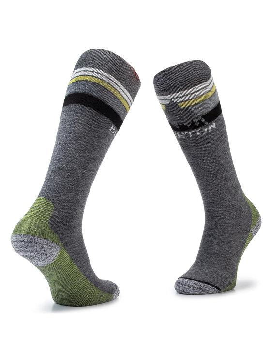 Burton Burton Чорапи дълги мъжки M Emblem Mdwt Sk 10068106021 Сив