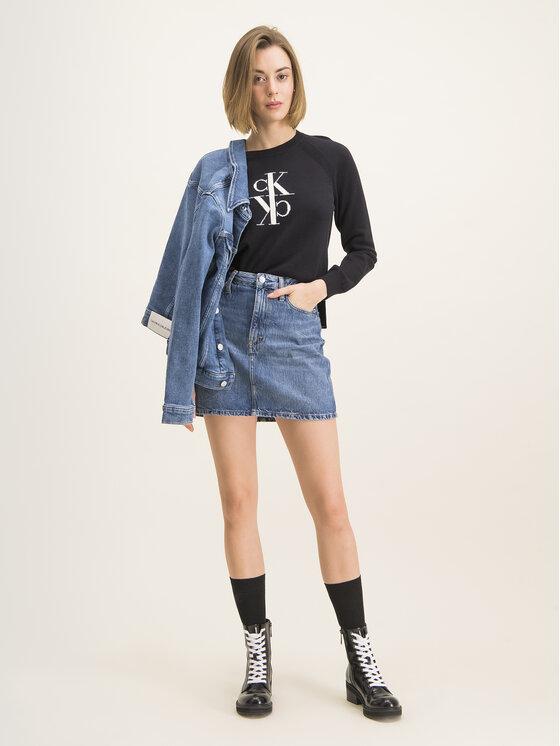 Calvin Klein Jeans Calvin Klein Jeans Megztinis J20J213181 Juoda Regular Fit