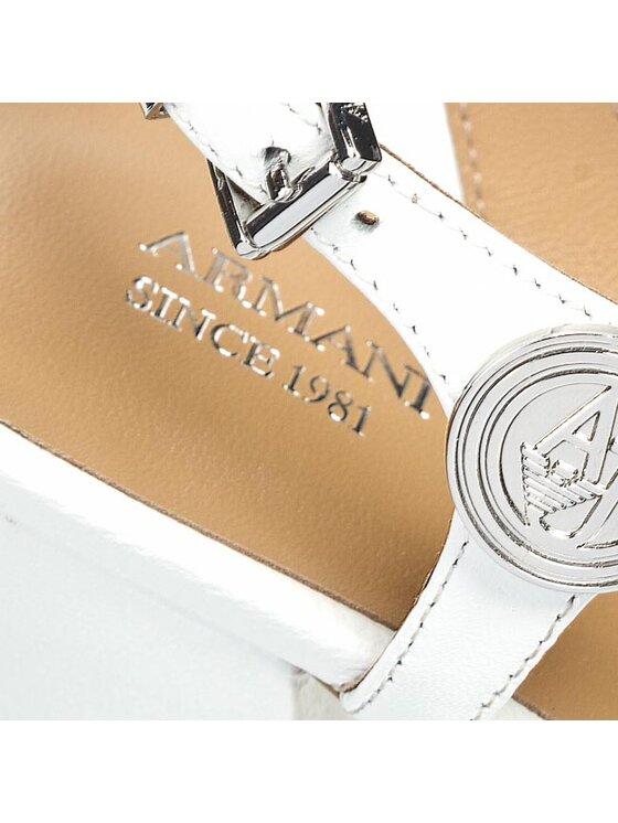 Armani Jeans Armani Jeans Σανδάλια V55G3 52 1F Λευκό