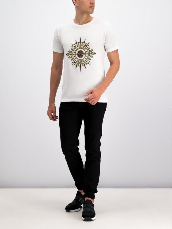 Trussardi Trussardi T-Shirt 52T00219 Biały Regular Fit