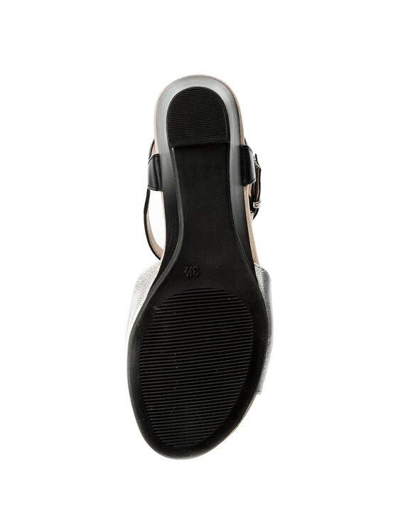 Caprice Caprice Sandály 9-28213-20 Stříbrná