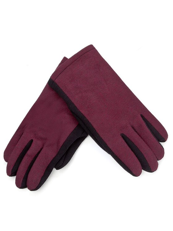 Guess Guess Дамски ръкавици Gloves Wrist Glove AW6825 WOL02 Бордо