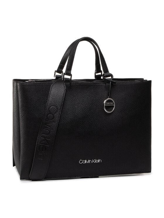 Calvin Klein Calvin Klein Torebka Sided Tote Lg K60K606353 Czarny