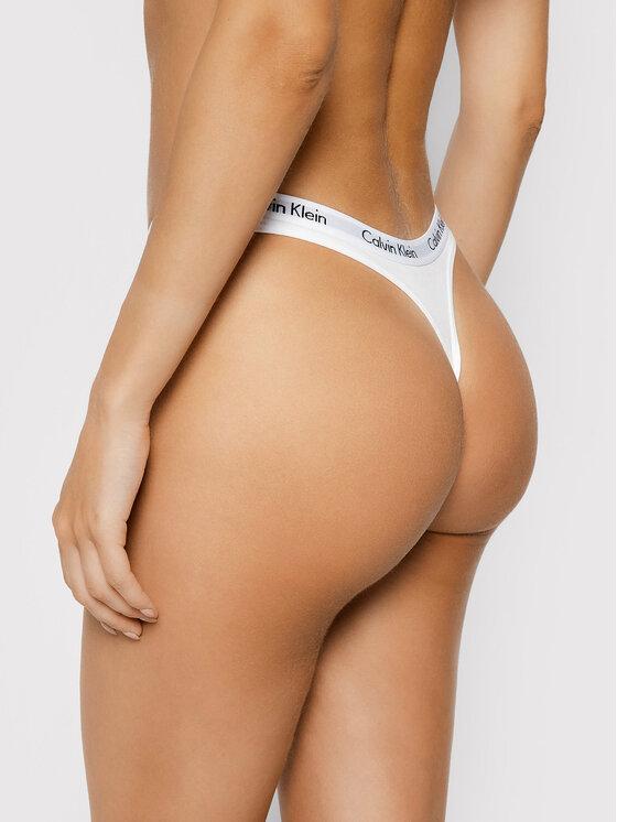 Calvin Klein Underwear Calvin Klein Underwear Stringi 0000D1617E Biały