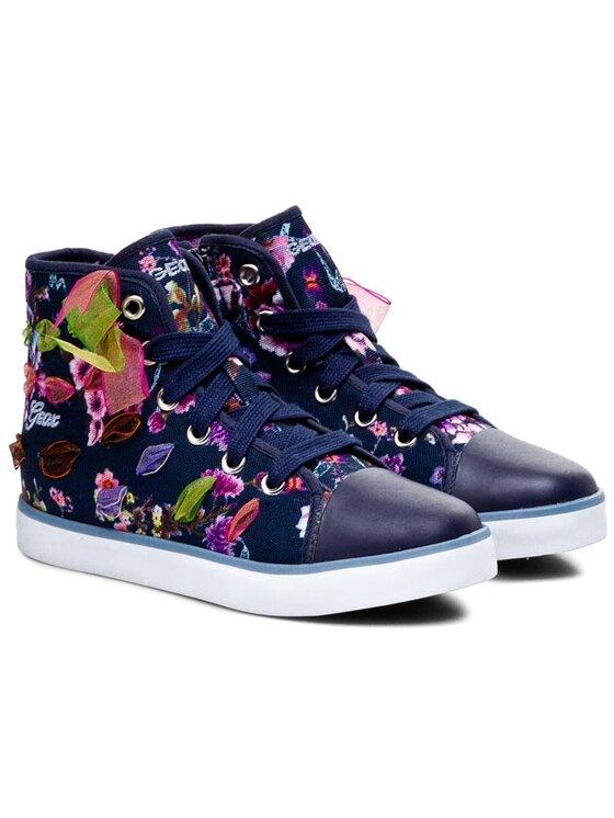 Geox Geox Sneakers aus Stoff J Ciak G. C J5204C 000AN C4002 Dunkelblau