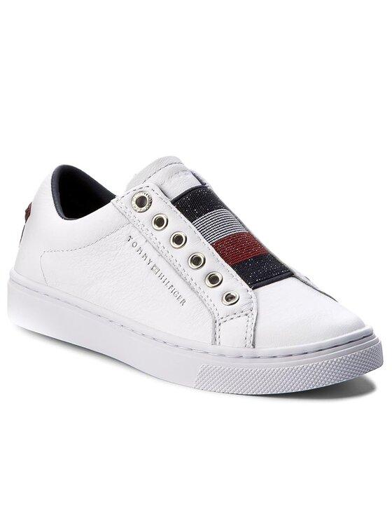 Tommy Hilfiger Tommy Hilfiger Κλειστά παπούτσια Venus Jr 18A1 FG0FG00103 Λευκό