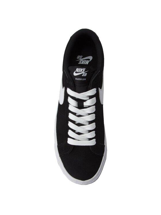 Nike Nike Topánky Sb Zoom Blazer Low 864347 019 Čierna